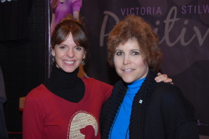 Victoria with Lisa Desatnik